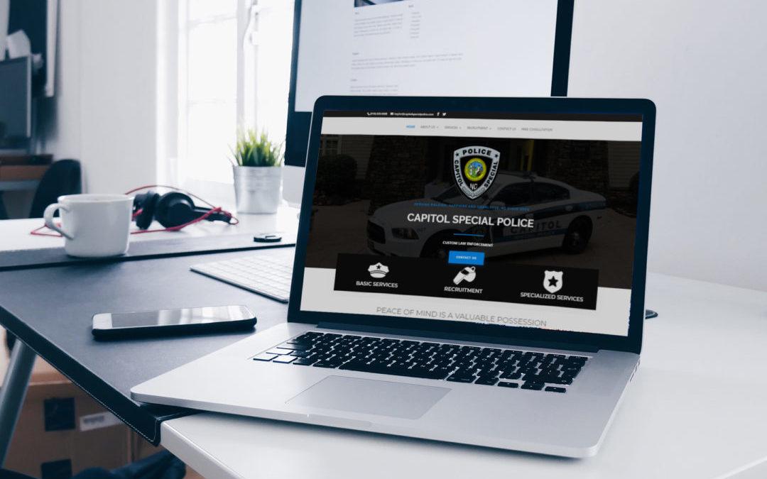Lawyer, Legal, Police Website Design, Online Marketing