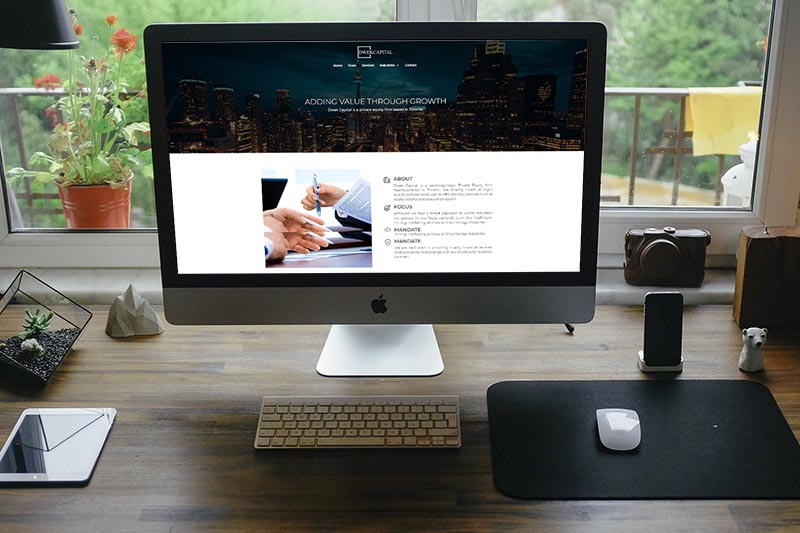 Financial & Accounting Website Design, SEO, Remote Business, Online marketing