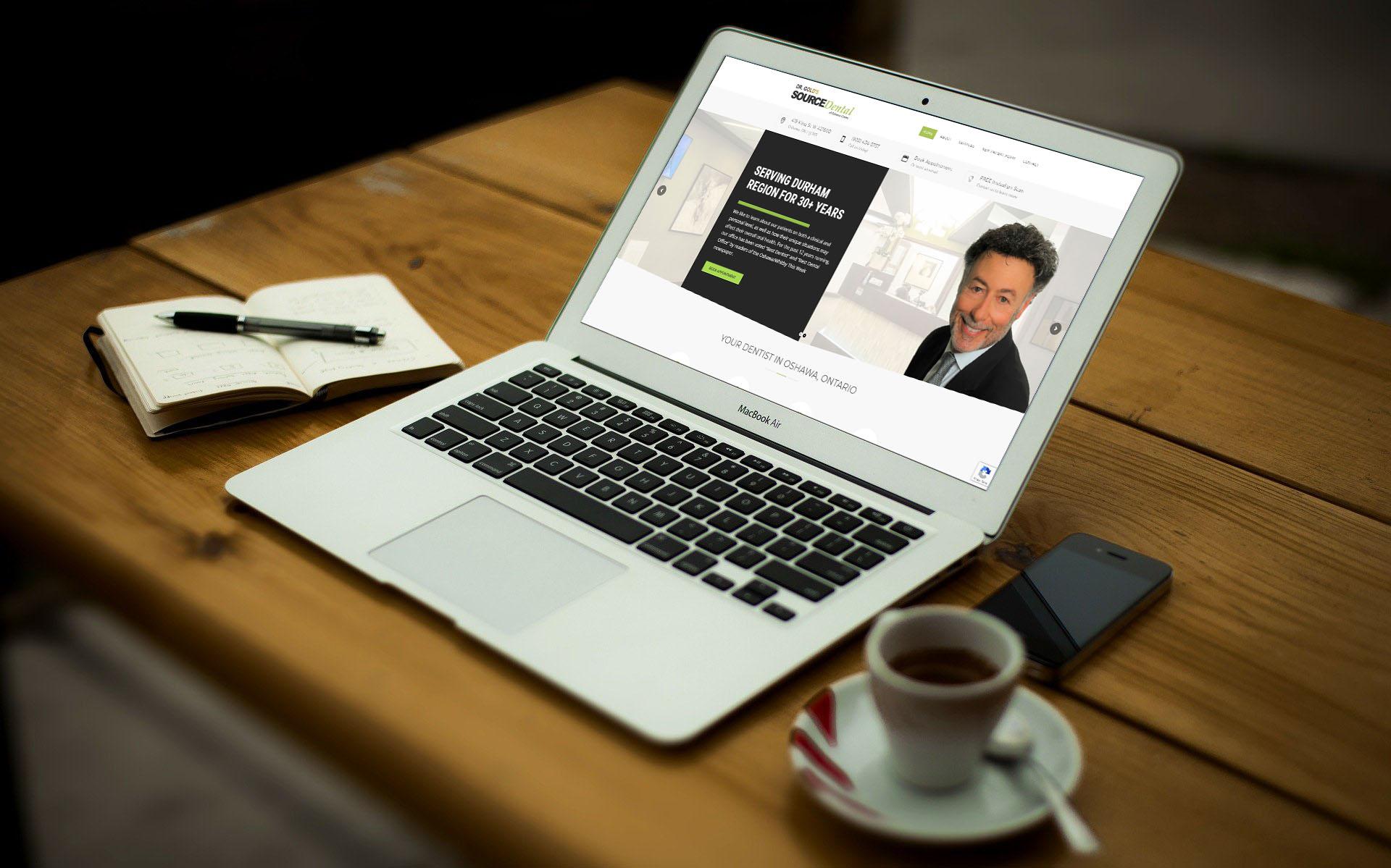 Dentist Dr. Gold's Source Dental Online Marketing, Website Design, Search Engine Optimization, Remote Dental Consultation